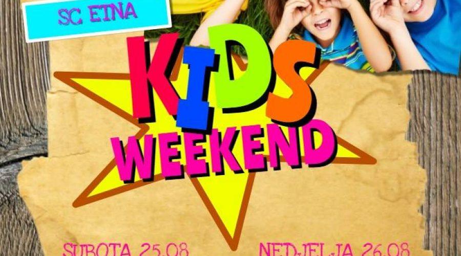 Kids Weekend u Shopping centru ETNA!