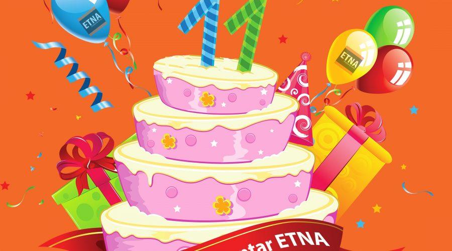 Slavimo 11. rođendan ETNE!