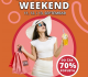 Veliki Shopping Weekend u SC ETNA 11, 12. i 13.Septembra!
