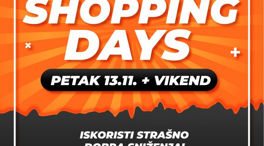Shopping Days u SC ETNI – razbij maler petka 13tog!